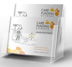 image of the care funding guidance brochure dispenser